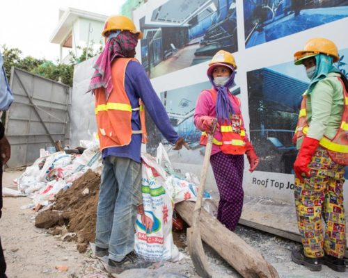 CAMBODIA TODAY Women workers